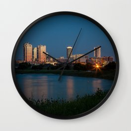 Fort Worth, Texas Wall Clock