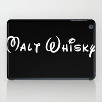 whisky iPad Cases featuring Malt Whisky by Spyck