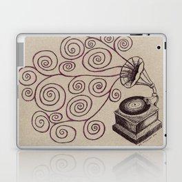 Music Spiralling Laptop & iPad Skin