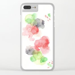 170714 Abstract Watercolour Play 15 |Modern Watercolor Art | Abstract Watercolors Clear iPhone Case