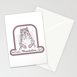 Little Thumbelina Girl Stationery Cards