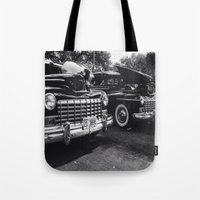 old school Tote Bags featuring Old School by Xneon