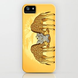 Safari Park iPhone Case