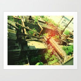 Factory V2 Art Print
