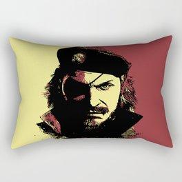 Big Boss (naked snake from metal gear solid) Rectangular Pillow