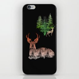 Woodland Deer iPhone Skin