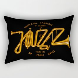 Jazz Trumpet Rectangular Pillow