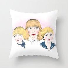 Mina bestyr Throw Pillow