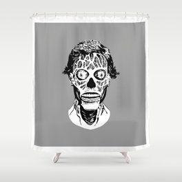OBEY Shower Curtain