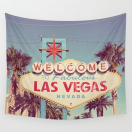 Welcome to fabulous Las Vegas Wall Tapestry