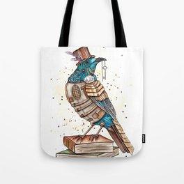 Steampunked Tui Tote Bag