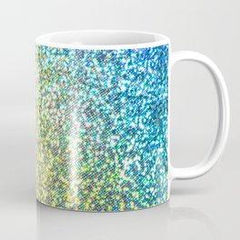 Rainbow Ombre Glitter Coffee Mug