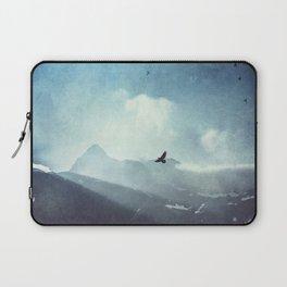 Mountain Light - Daybreak in the Italian Alps Laptop Sleeve