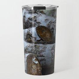 Wood Pile Travel Mug