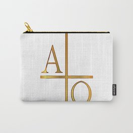 Alpha Omega Golden Image Carry-All Pouch