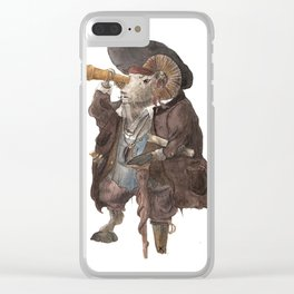 Big Horn Clear iPhone Case