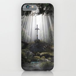 Master Sword in Ruins (Breath of the Wild) iPhone Case