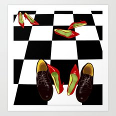Shoeday  Art Print