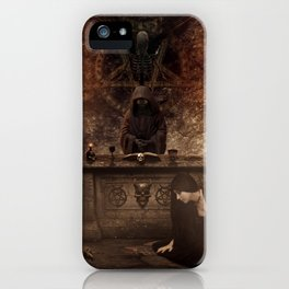 The Lord of Death iPhone Case