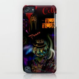 Collage Art Artsy Art by Sherri Of Palm Springs iPhone Case