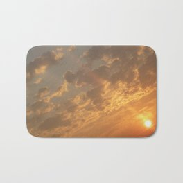 Sun in a corner Bath Mat
