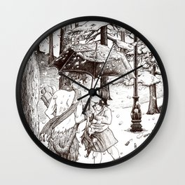 The Lion, the Witch and the Wardrobe Wall Clock