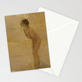 Paul Chabas - September Morn (1912) Stationery Cards