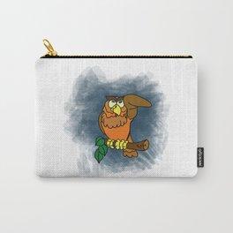 Awaken Owl Carry-All Pouch