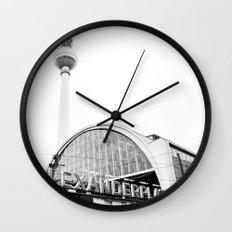 Berlin Alexandraplatz Wall Clock