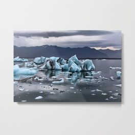 Glacial Dreams Metal Print