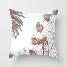 Let's Play Big Wheel Throw Pillow