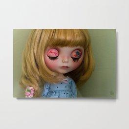 little dreamer -Dolls- blythe -Decor-Art Photography Metal Print