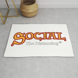Social The Distancing Rug