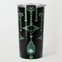 CASTELLINA JEWELS: BLUE GREEN DREAM Travel Mug