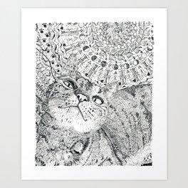 Mandala008 Art Print