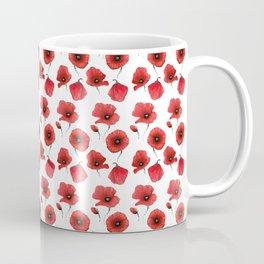 Poppies pattern Coffee Mug