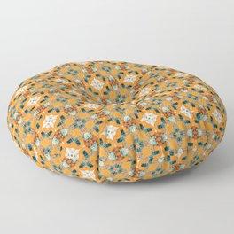 Cela #pattern Floor Pillow