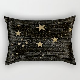 Vintage Black Magic Rectangular Pillow