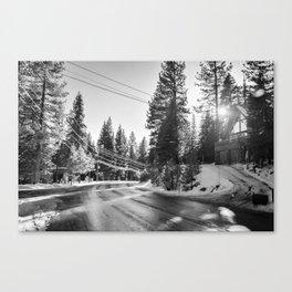 Slip Away Canvas Print