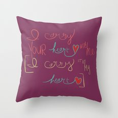the root of the root  Throw Pillow