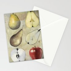 Fruit collage Stationery Cards