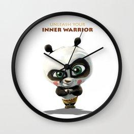 Unleash your inner warrior Wall Clock