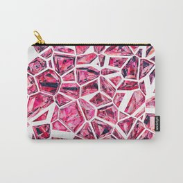Shattered Abstract Crystals Carry-All Pouch