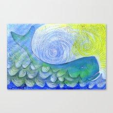 Healing Sounds Canvas Print