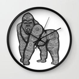 "THE GORILLA - ""ALEKOS"" (N) DEFENDER OF MANKIND Wall Clock"