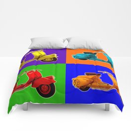 Vespa Vespa Vespa Vespa Comforters