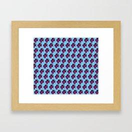 Pop art, pup art Framed Art Print