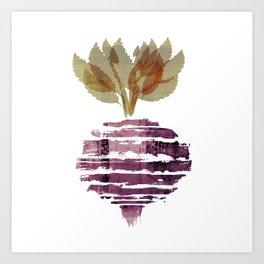 Beet Art Print