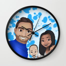 Ramirez Wilches Family Wall Clock