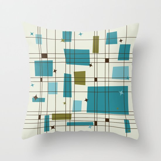 Mid-Century Modern (teal) by studiofibonacci